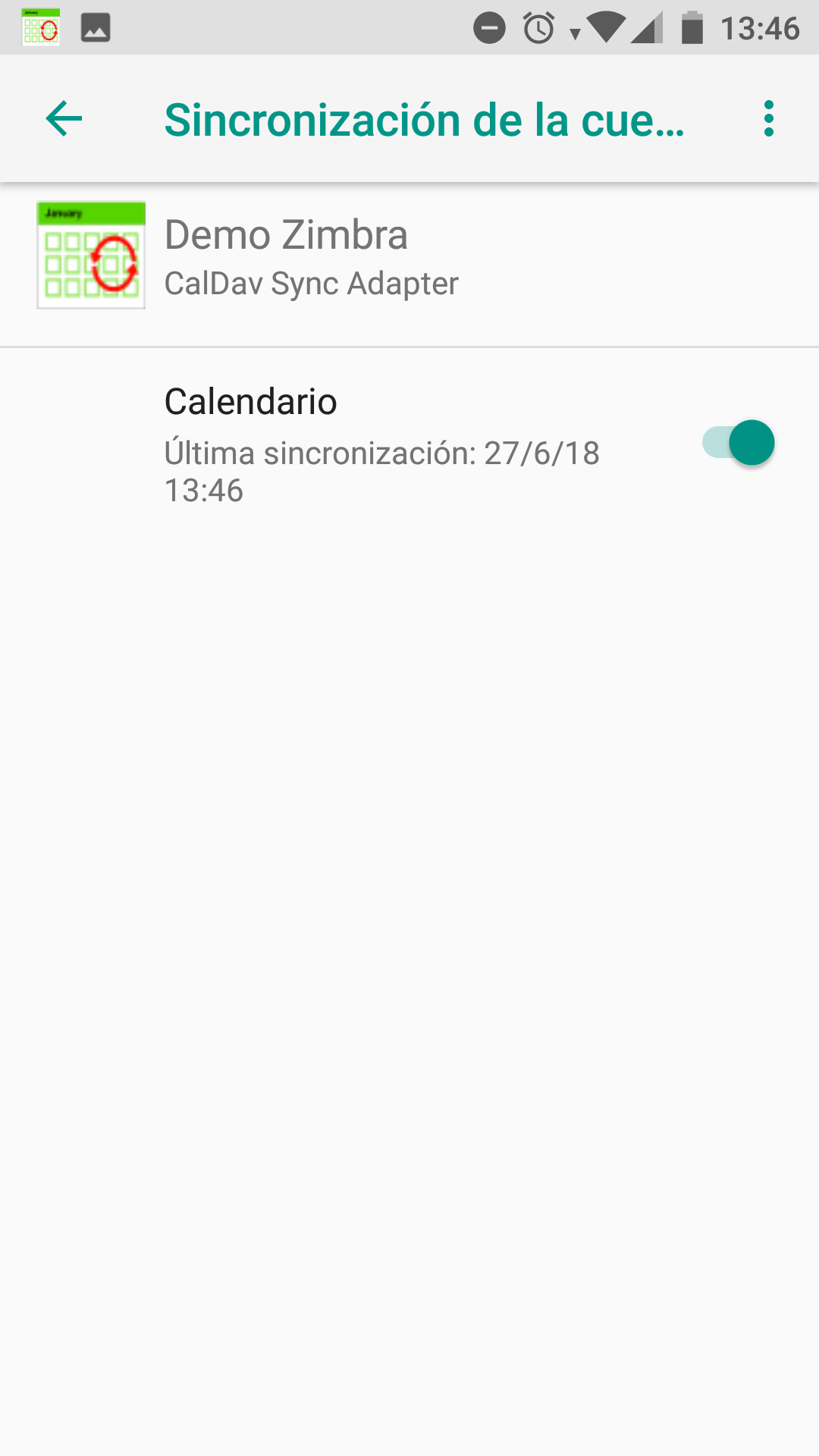 How to set up synchronization of calendars with Android CalDAV Sync