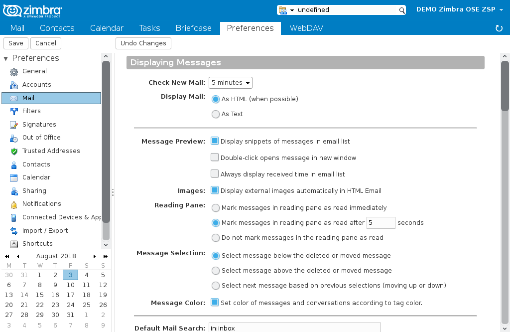 How to include accounts and domains in spam lists for Zimbra
