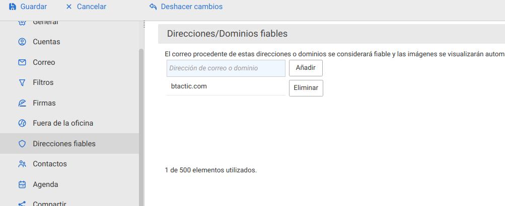 direcciones_fiables_zimbra